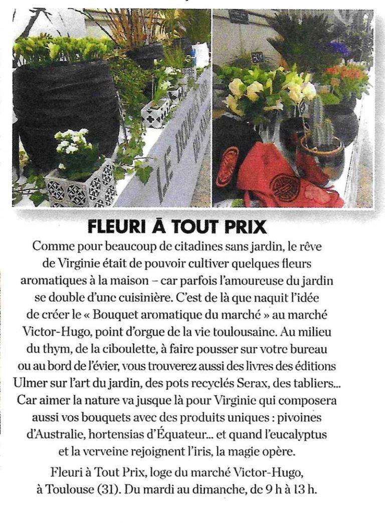 Le Bouquet Aromatique dans Elle