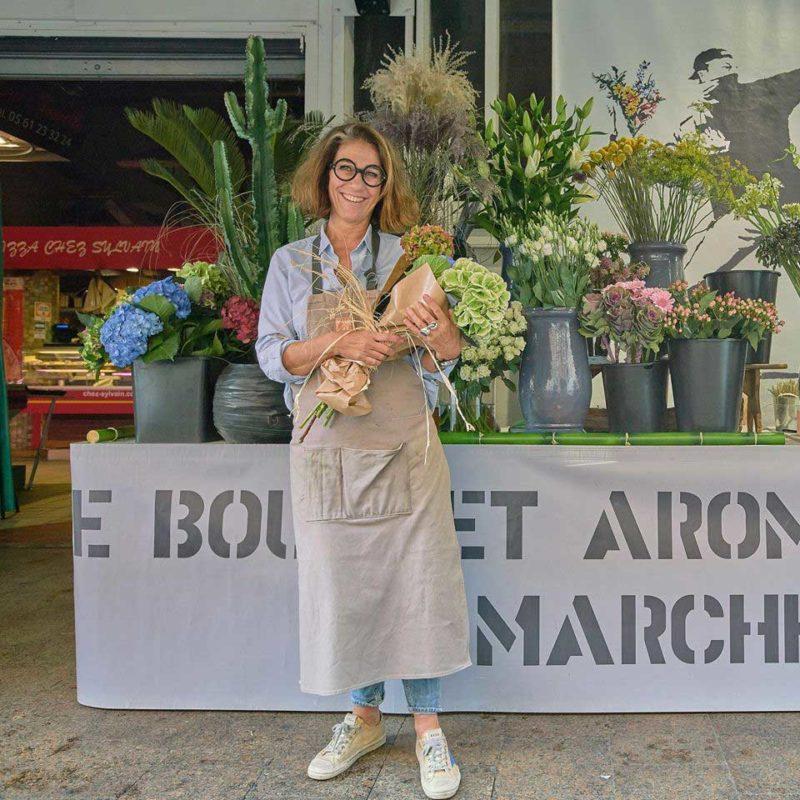Virginie | Le Bouquet Aromatique du Marché des Carmes